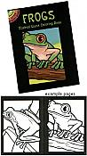 Frog Stained-Glass Coloring Book
