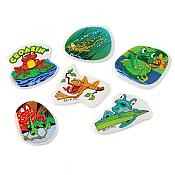 Funny Frogs Puffy Stickers (72)