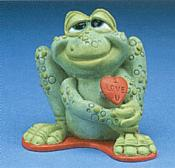 Sprogz: All Croaked Up Frog with Heart