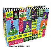 "Large Frog ""Hoppy Birthday"" Gift Bag"