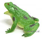 Big Green Vinyl Frog