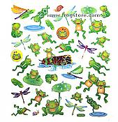 Frog Pond Friends Stickers