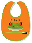 "Tree Frog ""Ribbit"" Bib"