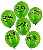Latex Frog Balloons (100)
