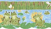 Wall Border - Froggy Friends
