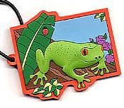 Frog Luggage Tag