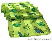 Dressy Green Frog Scarf