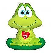 "Giant ""I Love You"" Frog Balloon"