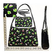 Frolicking Frogs Purse with Clutch