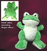 Tippie Toes Frog Finger Puppet