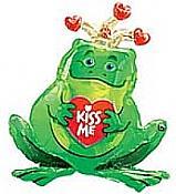 Frog Prince Mylar Balloon