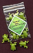 Packet of 10 Froggy Bath Beads