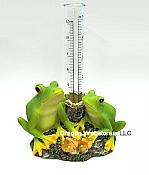 Forest Frogs Rain Gauge