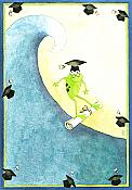 """Congratulations to the Big Kahuna"" Frog Graduation Card"