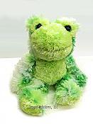Fuzzy Jeremiah Plush Frog