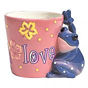 Peace Frogs: Live Laugh Love Mug