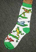 Frog Habitat Socks
