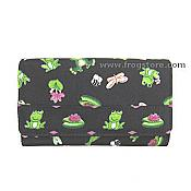 Frolicking Frogs Wallet