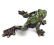 Golden Pond Green Dotted Leg Frog (Style C)