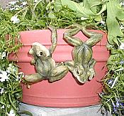 Up/Down Frog Pot Hangers (set/2)