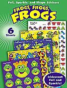 Frogs Variety Pack of Stickers (213)