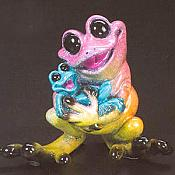Kitty's Critters Frog: Rock-A-By Baby