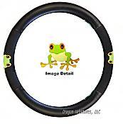 Treefrog Steering Wheel Cover