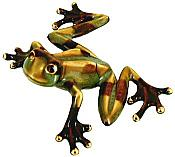 Glazed Ceramic Treefrog