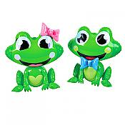 "Boy/Girl Inflatable 24"" Frogs, Set of Two"
