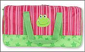 Funny Frog Duffle Bag