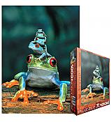Tree Frog Tower Puzzle (1000 piece)