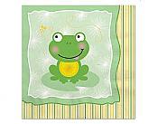 Froggy Frog Beverage Napkins, pk/16