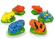 Frogs & Lizards Cake Candles Set/6