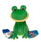 Silly Socks Plush Frog