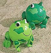 Frog-Shaped Beach Balls (2)