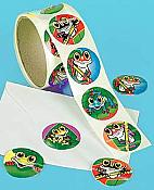 Whimsical Frog Roll/100 Stickers