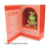 Valentine Boxed Prince Message Frog