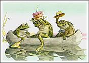 """Have a Toad-ally Awesome Birthday"" Frog Card"