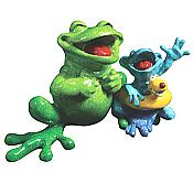 Kitty's Critters Frog: Just Keep Swimmin'
