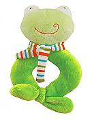 Happy Frog Ring Rattle