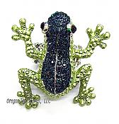 Green Frog Giant Cocktail Ring