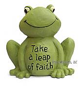 """Take a Leap of Faith"" Little Frog"