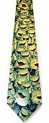 Whimsical Green Frogs Necktie
