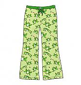 Toadally Green Frog Lounge Pants