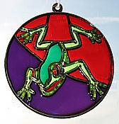 Jumping Treefrog Suncatcher