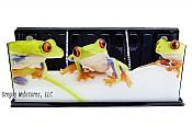 Three Tree Frog Magnetic Caddy