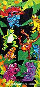 Whimsical Frog Beach Towel