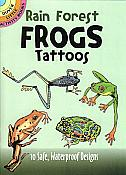 10 Rain Forest Frogs Tattoos