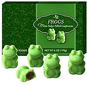 Mint Fudge Filled Chocolate Frogs, 15 pcs.