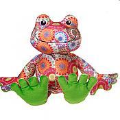 Cuddly Starburst Plush Frog
